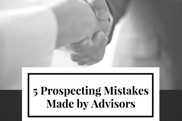 5 Prospecting Mistakes