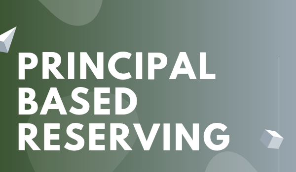 Principal Based Reserving
